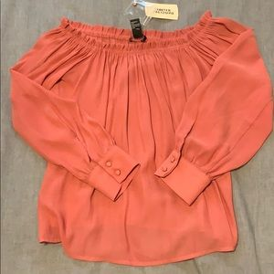 BNWT Forever 21 Off the Shoulder Blouse